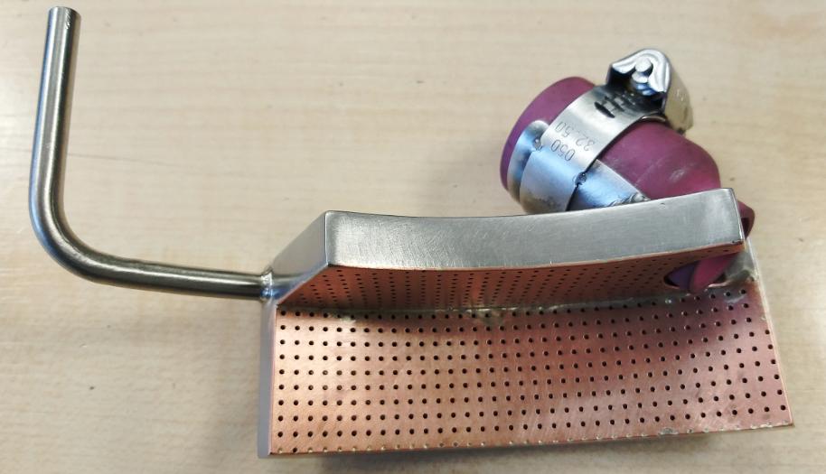 Soudure avec micro diffuseur d'argon (1/3)