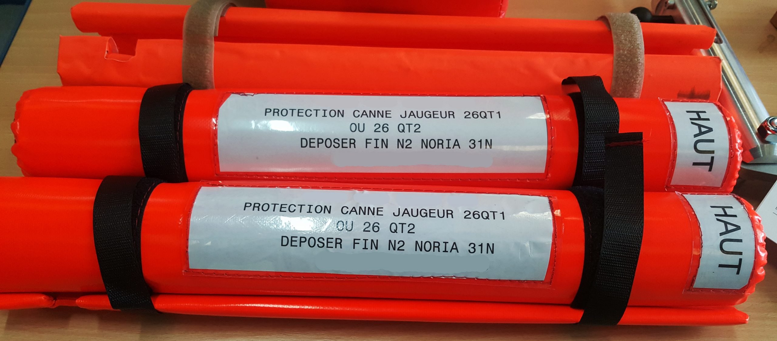 Protection tuyauterie carburant