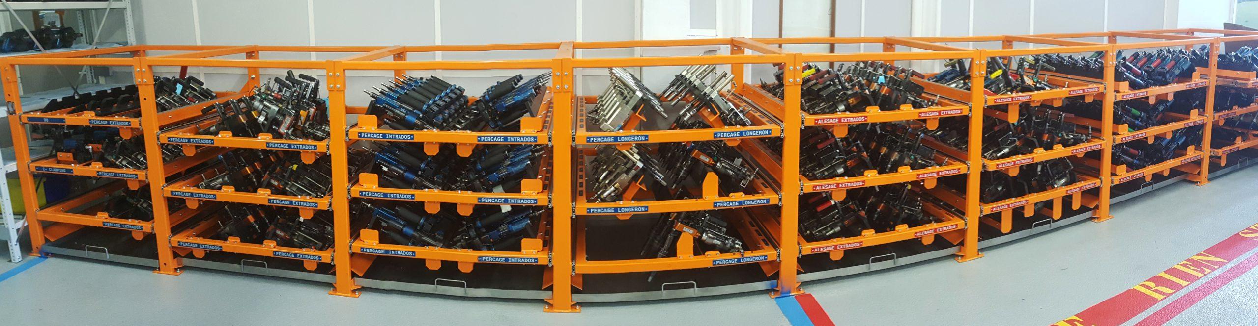 Rack de stockage UPA